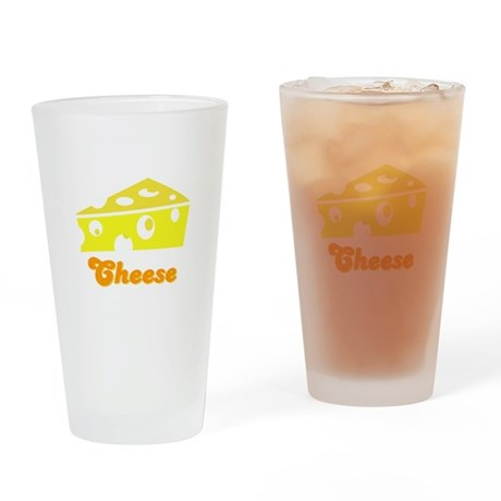 Cheese Pint Glass