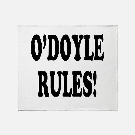 O'Doyle Rules! Throw Blanket