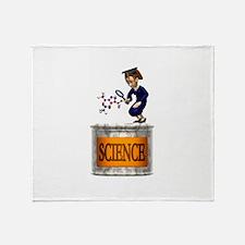 Science Grad Throw Blanket