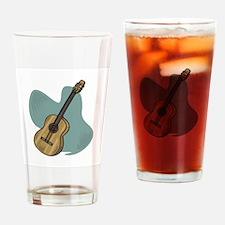 Acoustic Guitar Design Pint Glass
