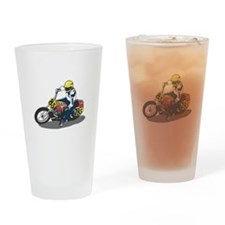 Motorcycle Racing Pint Glass
