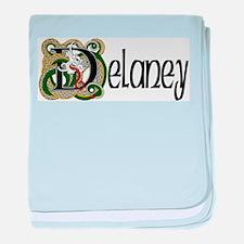Delaney Celtic Dragon baby blanket