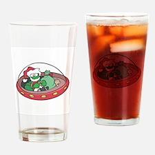 Christmas Alien Pint Glass