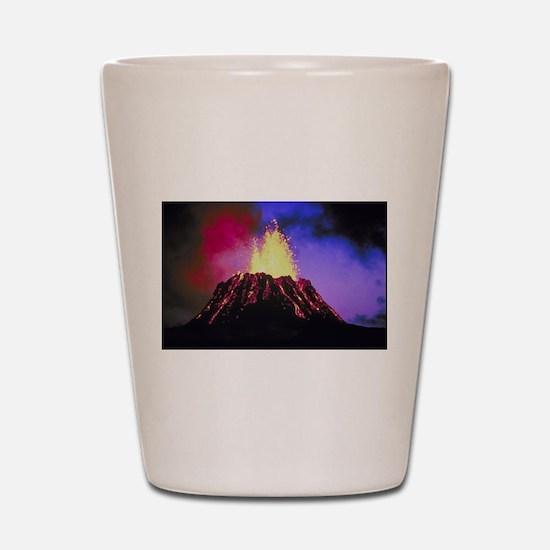 Kilauea Volcano Shot Glass