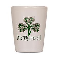 McDermott Shamrock Shot Glass