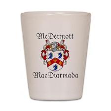 McDermott Irish/English Shot Glass