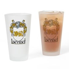 Devine Coat of Arms Drinking Glass