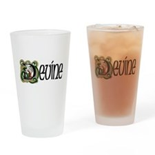 Devine Celtic Dragon Drinking Glass