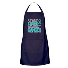 Stand Strong Ovarian Cancer Apron (dark)