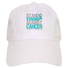 Stand Strong Ovarian Cancer Baseball Cap