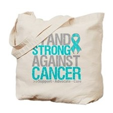 Stand Strong Ovarian Cancer Tote Bag