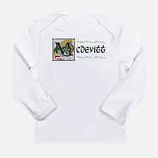 McDevitt Celtic Dragon Long Sleeve Infant T-Shirt