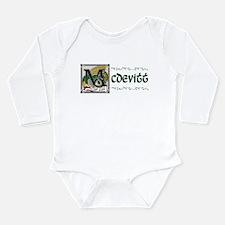 McDevitt Celtic Dragon Long Sleeve Infant Bodysuit