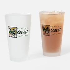 McDevitt Celtic Dragon Pint Glass