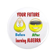 """Algebra Future 3.5"""" Button"""