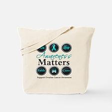 Awareness Ovarian Cancer Tote Bag