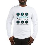 Awareness Ovarian Cancer Long Sleeve T-Shirt