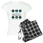 Awareness Ovarian Cancer Women's Light Pajamas