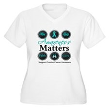 Awareness Ovarian Cancer T-Shirt