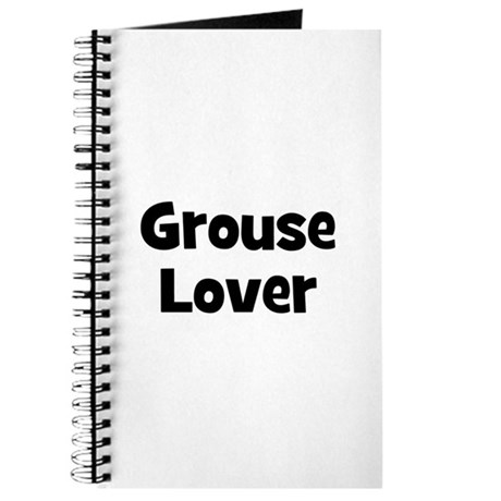 Grouse Lover Journal