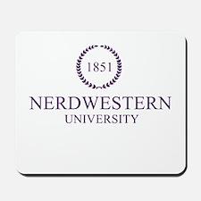 Nerdwestern University Mousepad