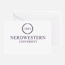Nerdwestern University Greeting Card
