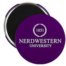 Nerdwestern University Magnet