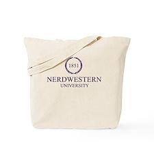 Nerdwestern University Tote Bag
