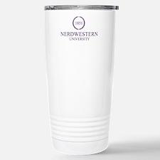 Nerdwestern University Travel Mug