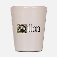 Dillon Celtic Dragon Shot Glass