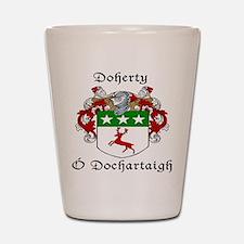 Doherty Irish/English Shot Glass