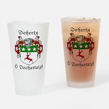 Doherty Irish/English Drinking Glass