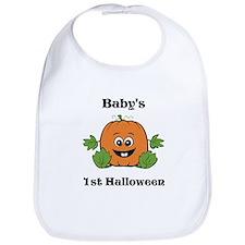 [NAME]'s 1st Halloween Pumpkin Bib