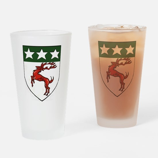 Doherty Crest Drinking Glass