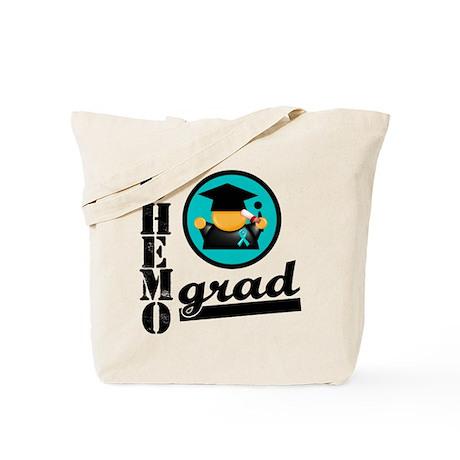Chemo Grad Ovarian Cancer Tote Bag