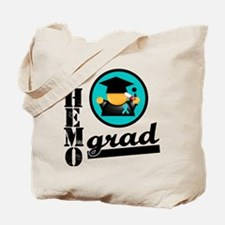 Chemo Grad Ovarian Cancer Tote Bag