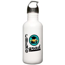 Chemo Grad Ovarian Cancer Sports Water Bottle