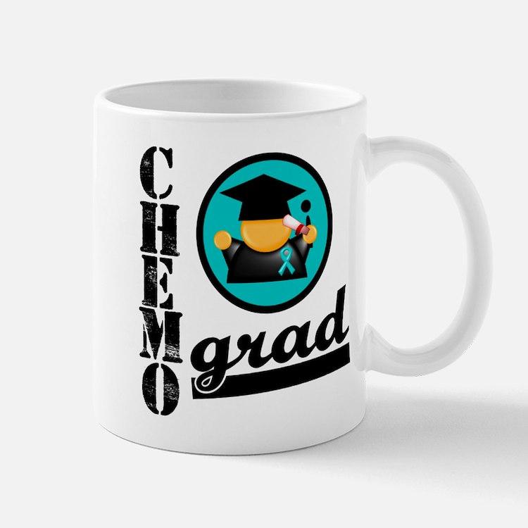 Chemo Grad Ovarian Cancer Mug