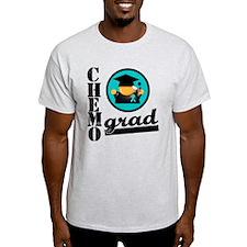 Chemo Grad Ovarian Cancer T-Shirt