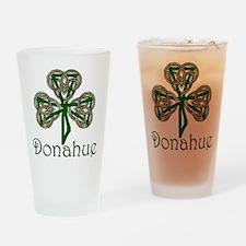 Donahue Shamrock Pint Glass