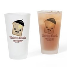 What the French Toast Kawaii Pint Glass