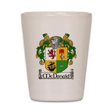 McDonald Coat of Arms Shot Glass