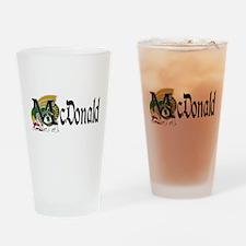 McDonald Celtic Dragon Pint Glass