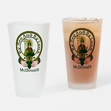 McDonald Clan Motto Pint Glass