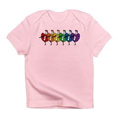 Rainbow CanCan Dancers Infant T-Shirt
