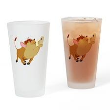 Funny Stubborn Wild Boar Pint Glass