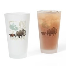 Mommy & Baby Canadian Boars Pint Glass