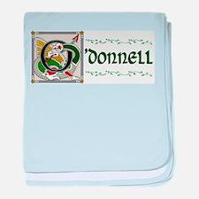 O'Donnell Celtic Dragon baby blanket