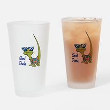 Cool Dude Lizard Pint Glass