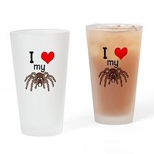 I Heart (Love) My Tarantula Pint Glass
